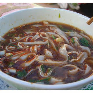 Hot Spicy Cold Noodles.