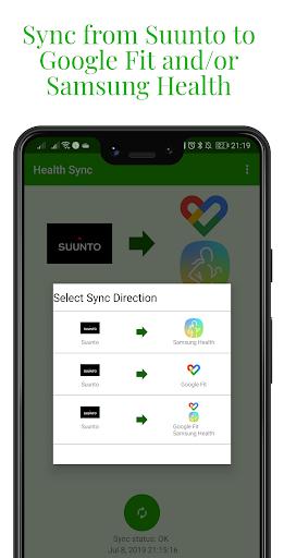 Capturas de pantalla de Health Sync 8