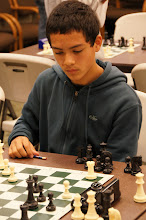 Photo: Cameron Kocher, 8th grader at traditional chess powerhouse Whitford Middle School playing in the Super Stars, section C.