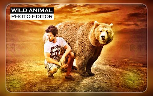 Wild Animal Photo Editor - Animal Photo Frames - náhled