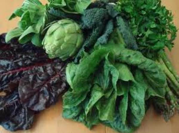 Spinach And Dark Leafy Greens Recipe | Just A Pinch Recipes