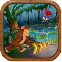 Jungle Kong Running Banana Run icon