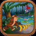 Jungle Kong Running Banana Run icon
