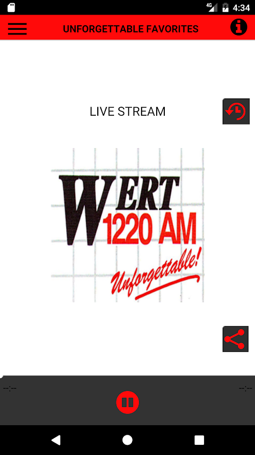 WERT Radio- screenshot