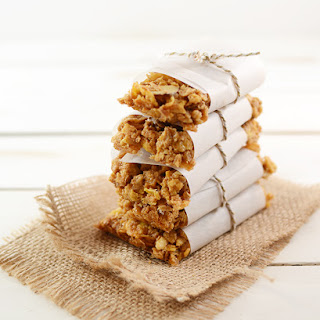 Peanut Butter and Honey Bunches of Oats Granola Bars.