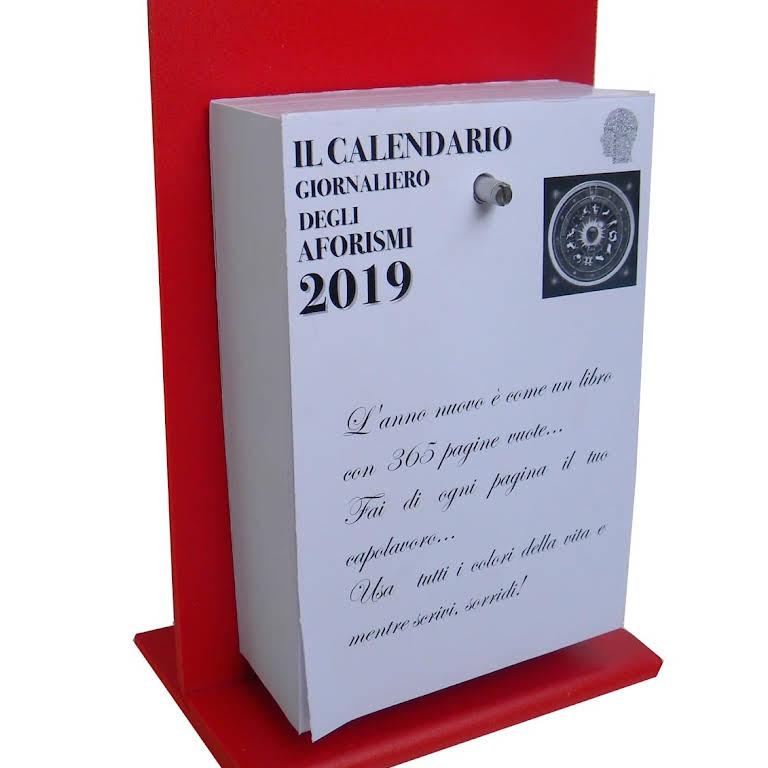 Calendario Giornaliero Con Frasi.Il Calendario Degli Aforismi Stationery Store