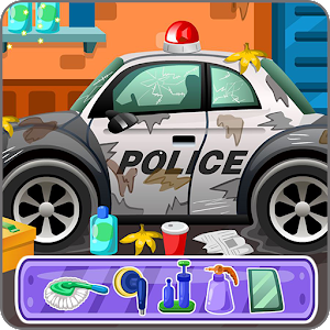 Clean up police car for PC and MAC