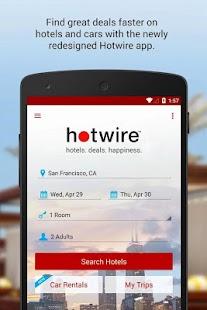 Hotwire Hotel & Car Rental App- screenshot thumbnail