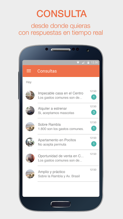 InfoCasas- screenshot