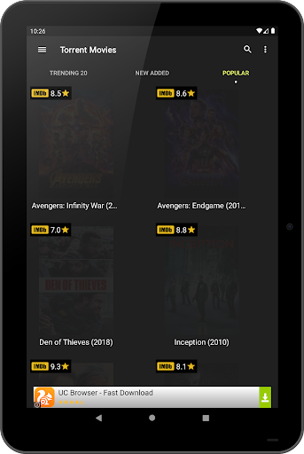 Torrent Movies 1.2.3 screenshots 17