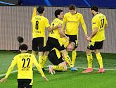 Borussia Dortmund komt met de schrik vrij en behoudt waterkans op plaats bij de eerste vier in de Bundesliga