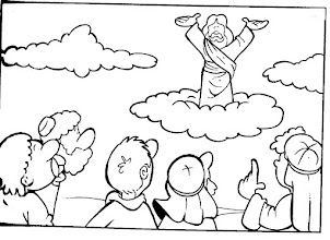 Photo: Jesús sube al cielo