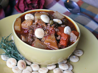 Hearty Hamburger Soup For The Crock Pot Recipe