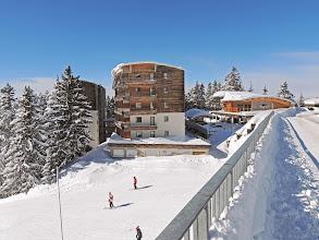 Photo: Une résidence avec retour ski au pied