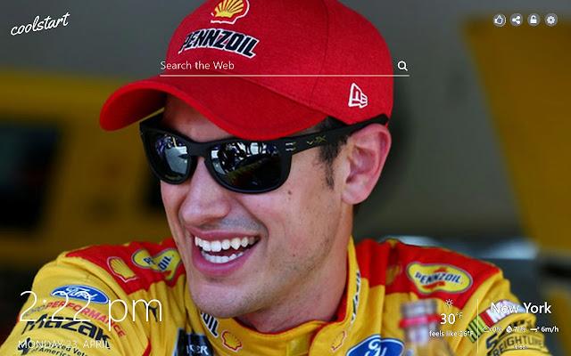 Joey Logano HD Wallpapers Nascar Racing Theme
