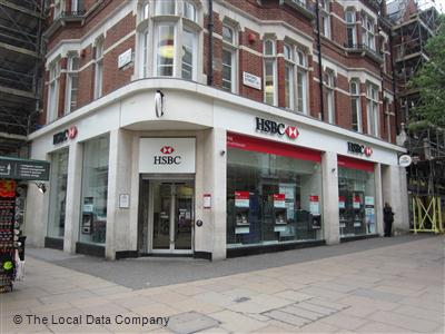 HSBC on Oxford Street - Banks & Other Financial Institutions in