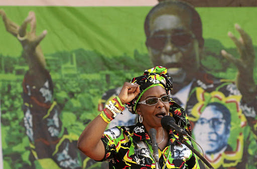 Grace Mugabe, wife of President Robert Mugabe. Picture: REUTERS