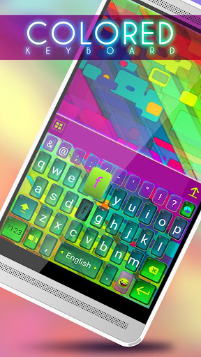 Colored Keyboard
