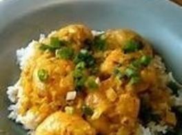 Shrimp Curry Butter Sauce Recipe