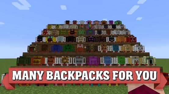 Backpack mod for Minecraft PE - náhled
