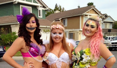 Photo: Face Painting makeup for music festivals by Tess, Cypress, Ca. Call to Book Tess at 888-750-7024