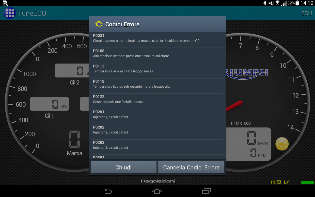 TuneECU- screenshot