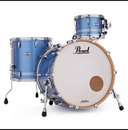 Pearl Masters Maple Complete - MCT923XSP/C837 - Chrome Contrail