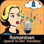 Romanian Speech To Text Translator