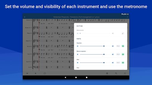 MuseScore: view and play sheet music 2.5.25 screenshots 10