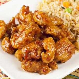 General Tso's Orange Chicken