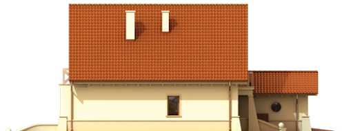Wioletta G1 - Elewacja boczna