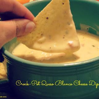 Crock-Pot Queso Blanco Cheese Dip.