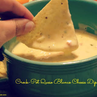 Crock-Pot Queso Blanco Cheese Dip.