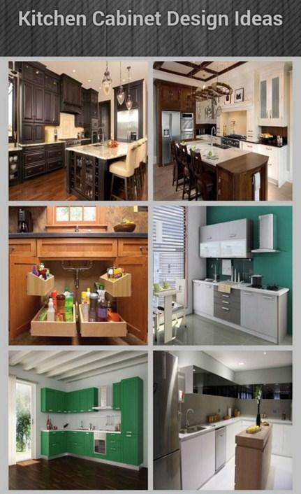 kitchen cabinet design ideas android apps on google play. Black Bedroom Furniture Sets. Home Design Ideas