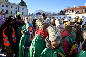 """Photo: Orszak Trzech Króli - byliśmy w grupie """"zielonej"""""""