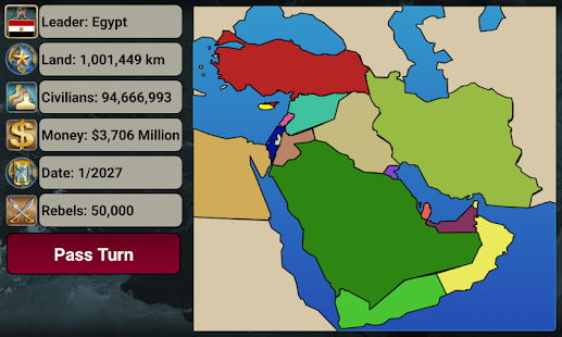 Middle East Empire 2027 Screenshot