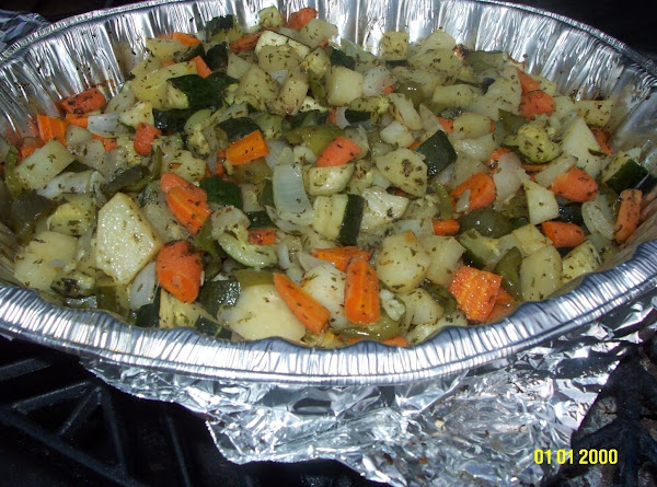 Zucchini Vegetable Mixture Recipe