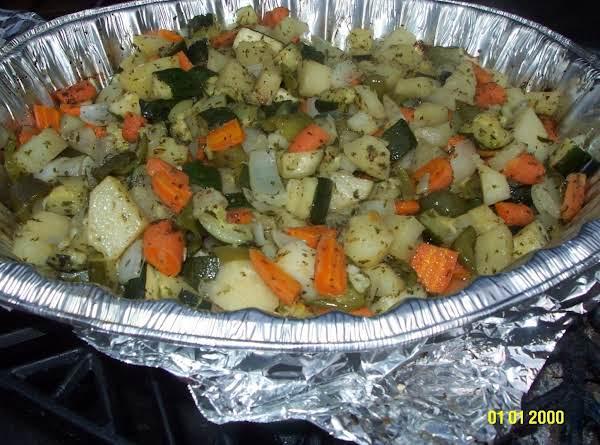 Zucchini Vegetable Mixture