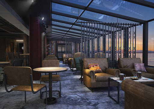 norwegian-bliss-District-Brew-House-Lounge-rendering.jpg - A digital rendering of the District Brew House lounge aboard Norwegian Bliss.