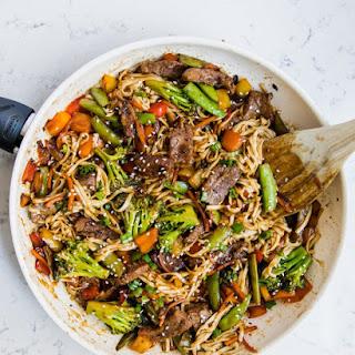 Veggie and Beef Ramen Recipe