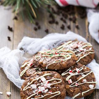 Chocolate Brownie Christmas Cookies Recipe