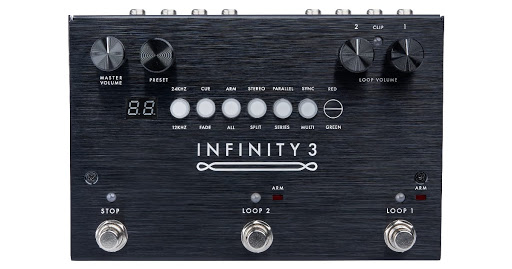 The new Pigtronix Infinity 3 Deluxe Looper and Universal Remote take looping to the next level