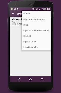 SIM Manager- screenshot thumbnail