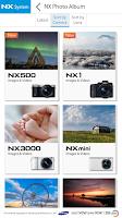Screenshot of Samsung SMART CAMERA NX