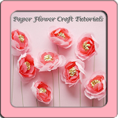 Paper Flower Craft Tutorials