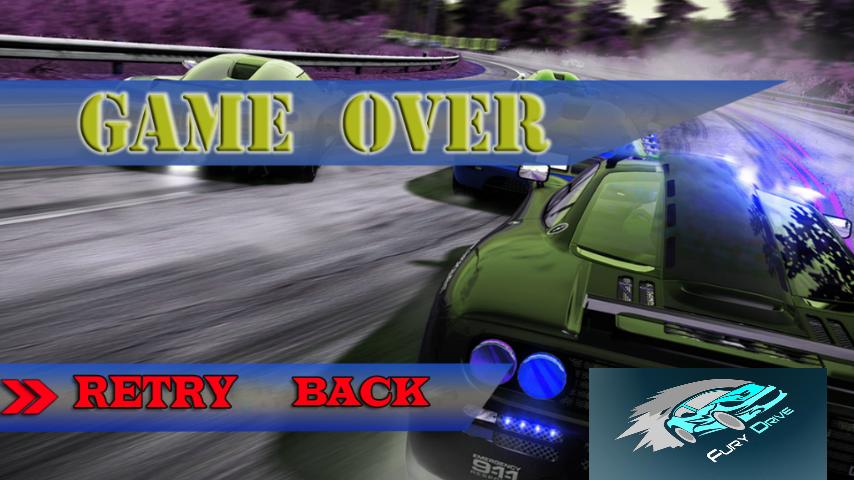 android Fury Drive Screenshot 1
