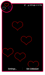 Live Love Wallpapers screenshot 3