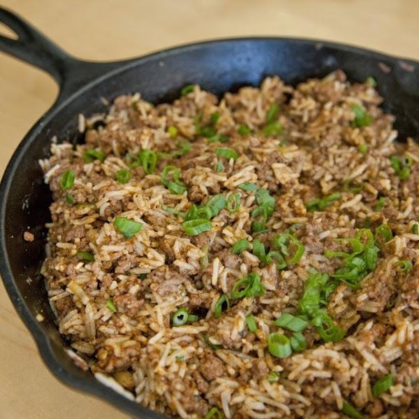 Spicy Dirty Rice, Iris's Recipe