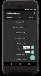 Route Chart - Nuzlocke Tracker - Free - náhled