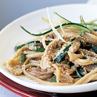 Sesame, Turkey And Asparagus Pasta